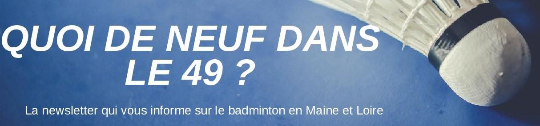 Newsletter comité badminton 49