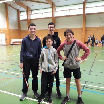 Résultats TRJ n°1 (Saligny)