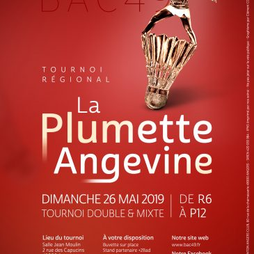 Ouverture inscription Plumette Angevine 2019