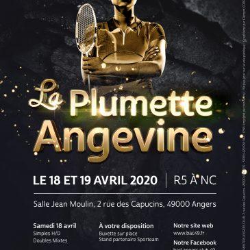 ANNULÉ // La Plumette Angevine
