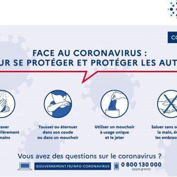Mesures d'état d'urgence sanitaire Maine & Loire