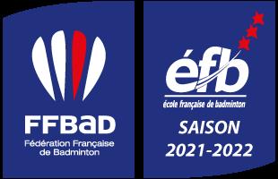 """""""Label éfb"""" – école française de badminton"""